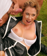 Horny girl is gangbanged outdoor (13)