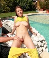 Fucking beside the pool (5)