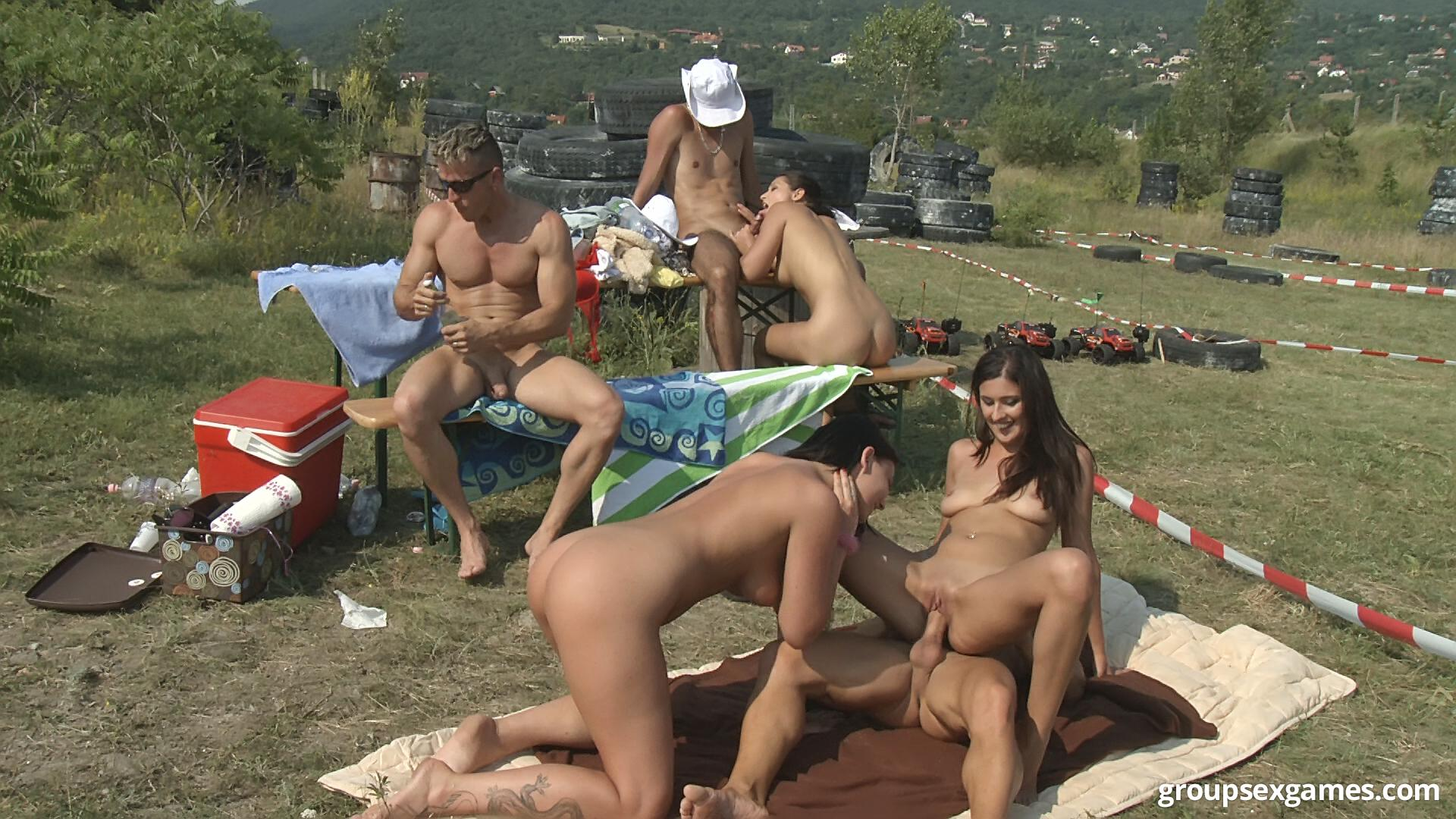 orgy in nude beach