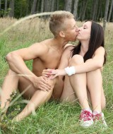 Couple fucking in the grass (1)