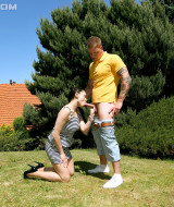 She gets fucked in the park for everyone to see and enjoy (3)