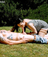 She gets fucked in the park for everyone to see and enjoy (7)