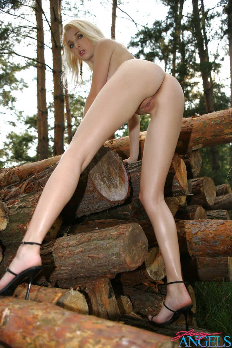 Naked Teen In The Forest